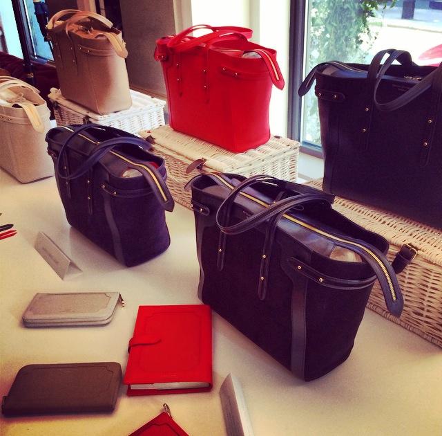 London Fashion Week - Aspinal of London new collection - handbags