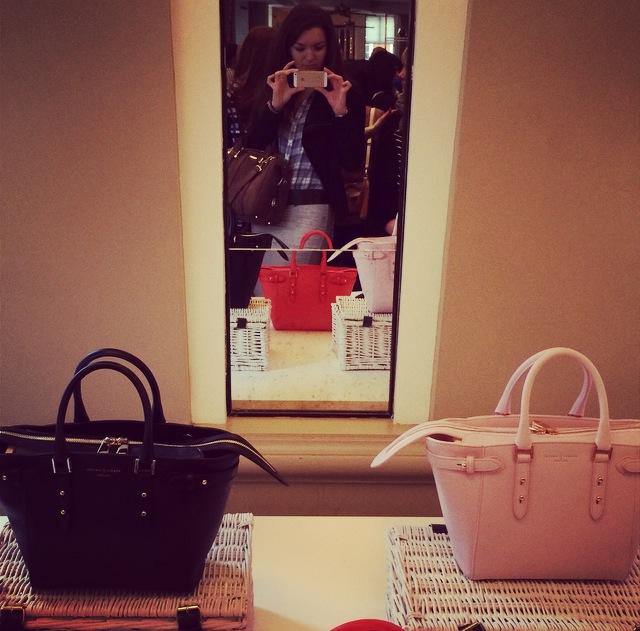 London Fashion Week - Aspinal of London handbags