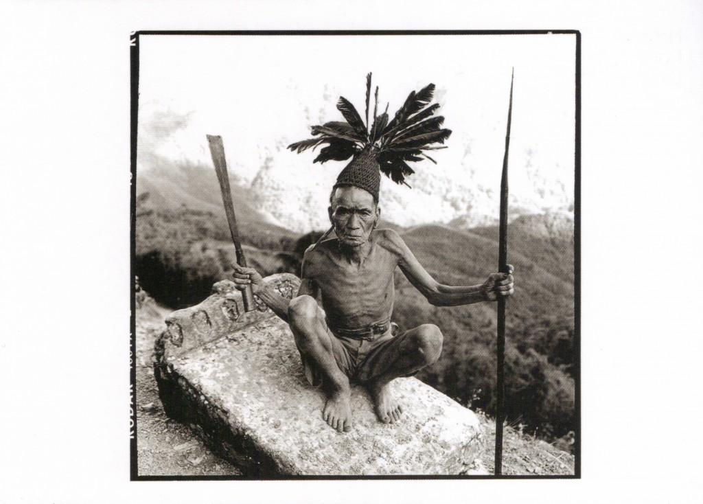 Tribesman, Naga Hills, India. David Bailey, 2012. © David Bailey.