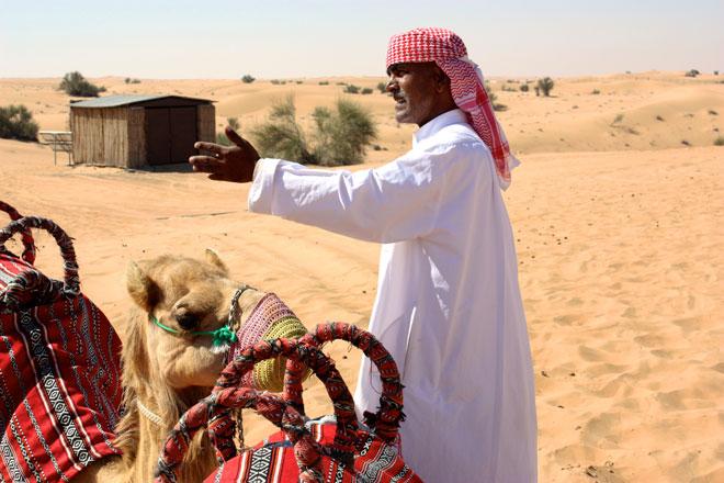 Platinum Heritage - Desert Safari Dubai - Breakfast with a Bedouin - Camel rides