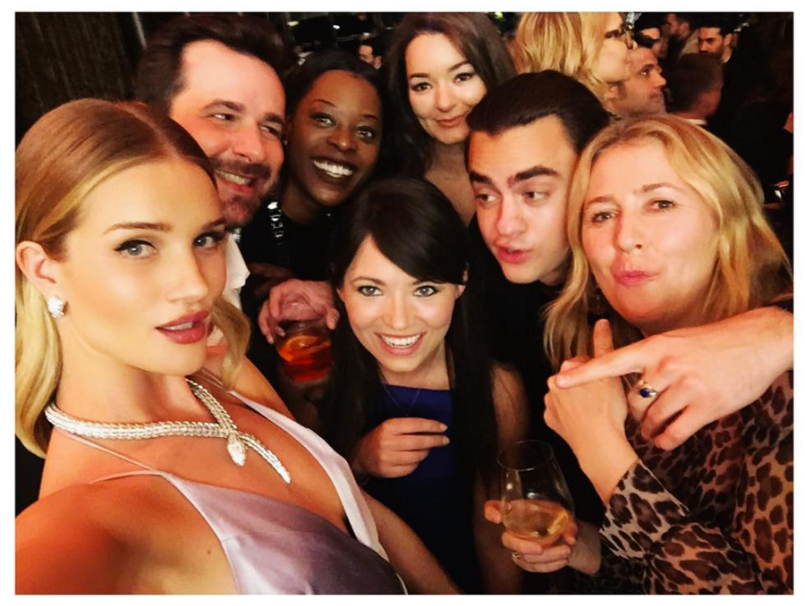 Bulgari Party - repost from instagram @rosiehw
