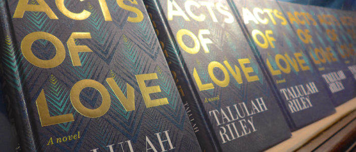 Acts of Love by Talulah Riley at Daunt Books Holland Park