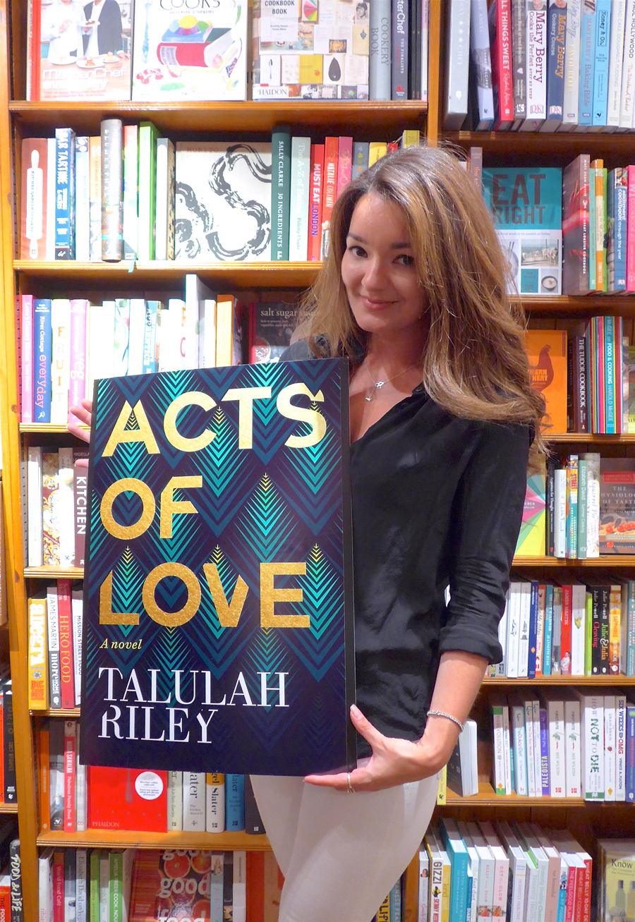 Acts of Love by Talulah Riley in Daunt Books Holland Park