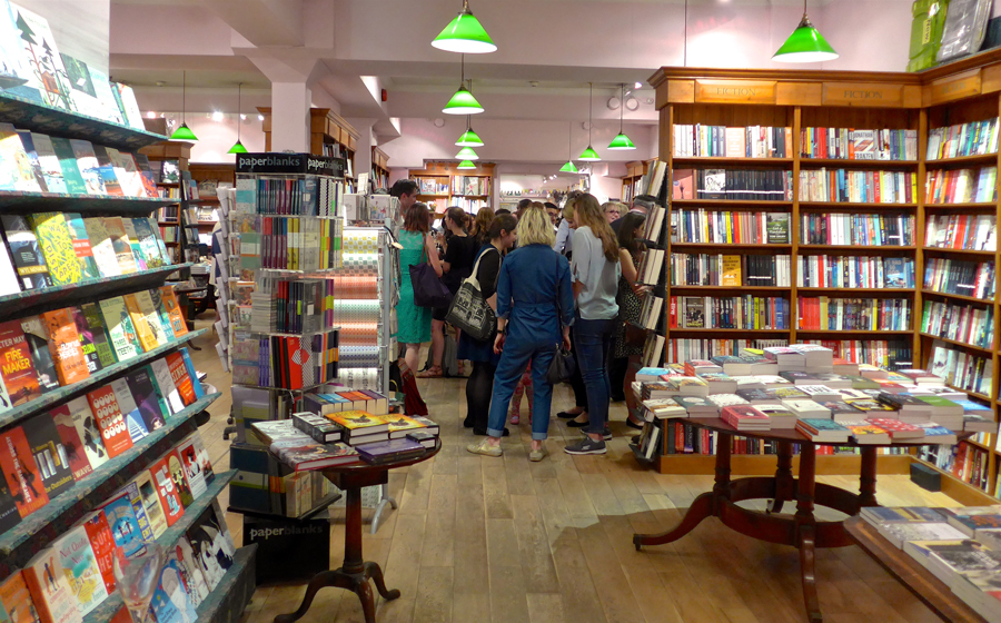 Daunt Books hosting Talulah Riley's book launch for Acts of Love