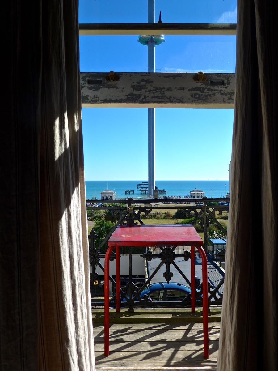Artist Residence Brighton balcony