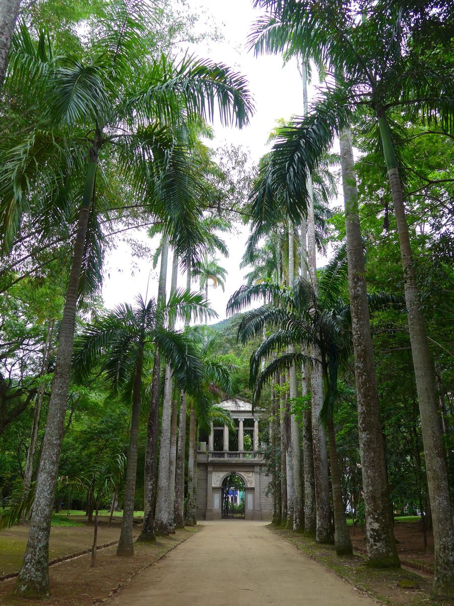 Botanical Garden Rio de Janeiro - Jardim Botanico do RIo de Janeiro - Gates