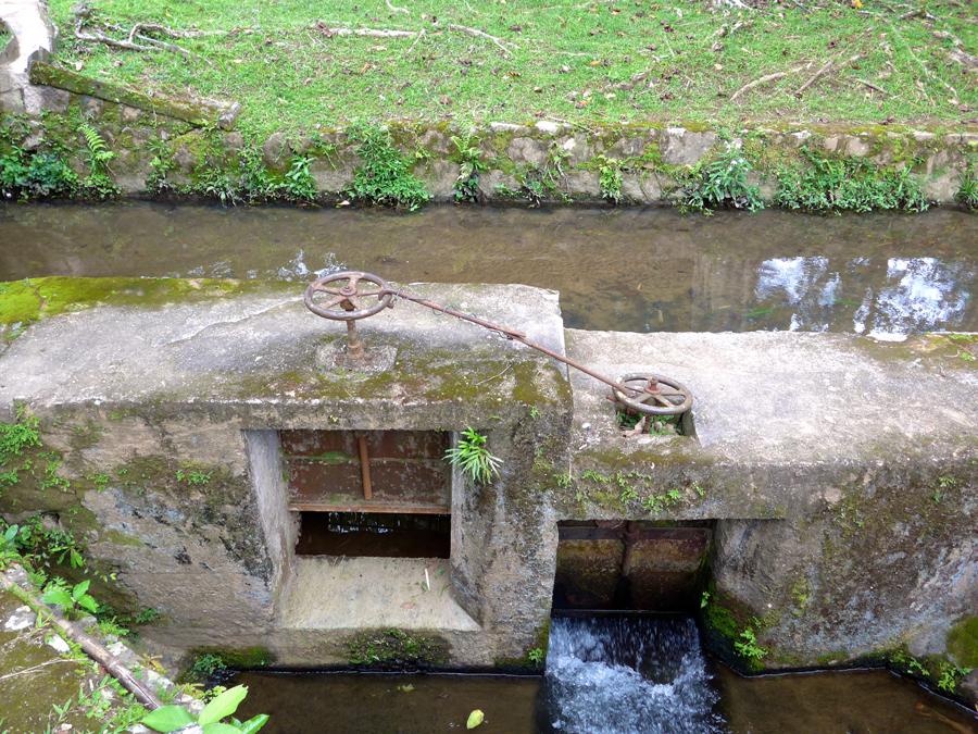 Botanical Garden Rio de Janeiro - Jardim Botanico do RIo de Janeiro - Dams irrigation system