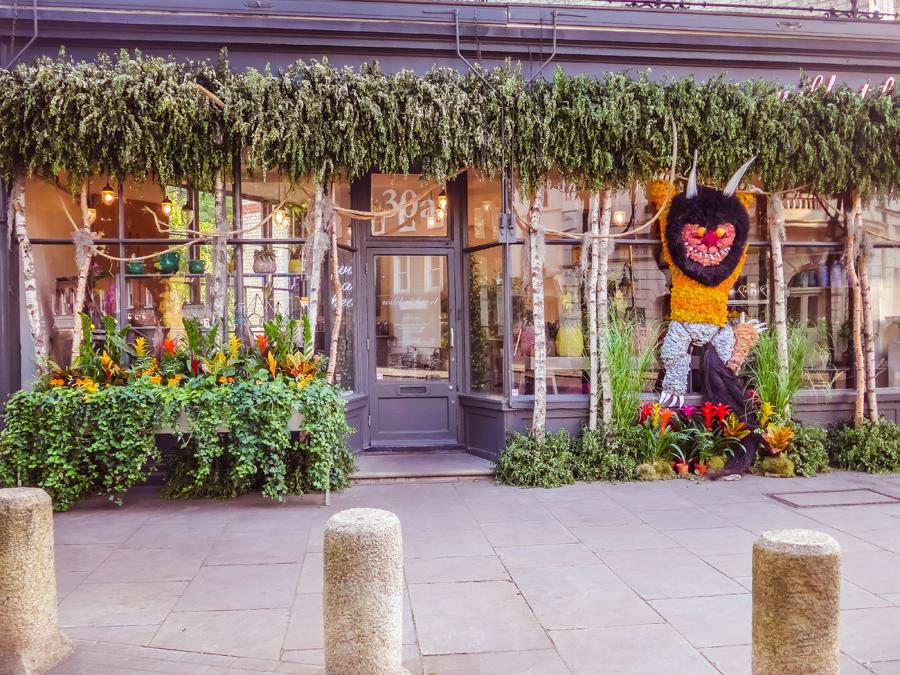 Chelsea in Bloom 2017 - Floral Safari - Flower Animals - Gruffalo