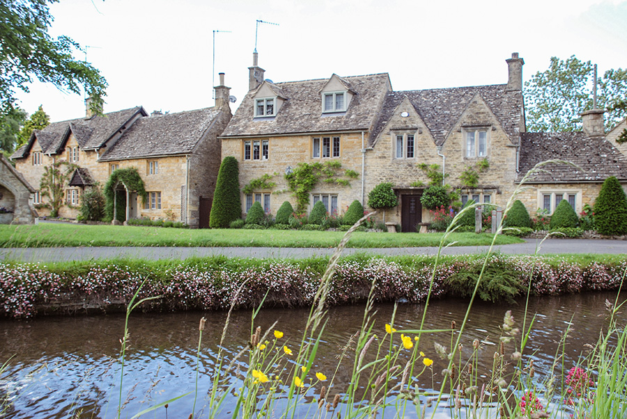 Cotswolds villages - Lower Slaughter - Prettiest villages in the Cotswolds