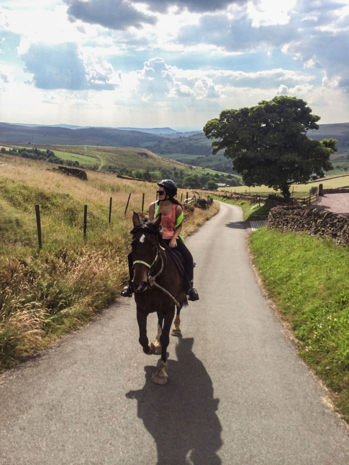 Northfield-Farm-pony-trekking-near-Bakewell-Derbyshire---Flash-England's-highest-village