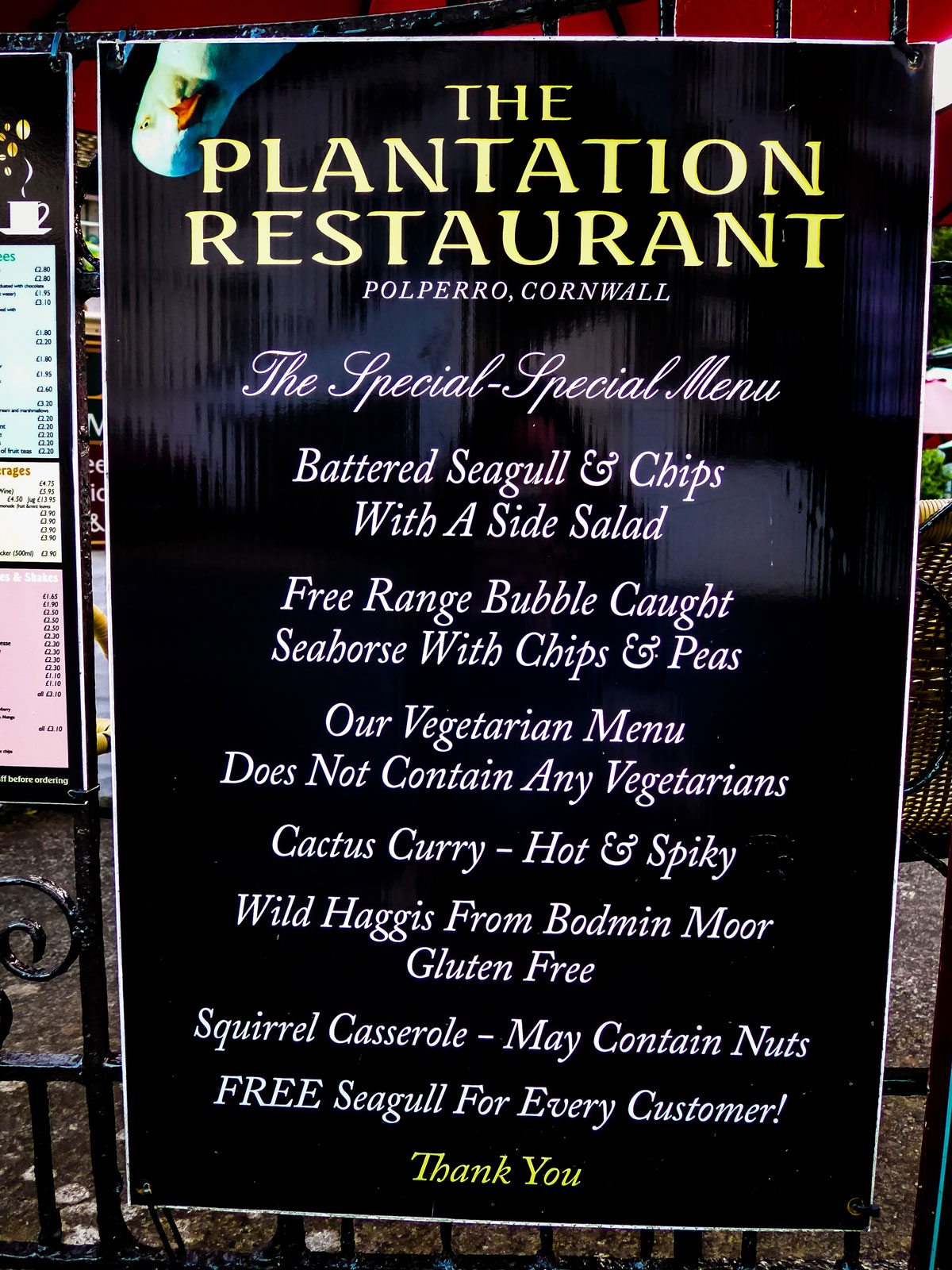 Polperro-The-Plantation-Restaurant-Funny-Seaside-Menu