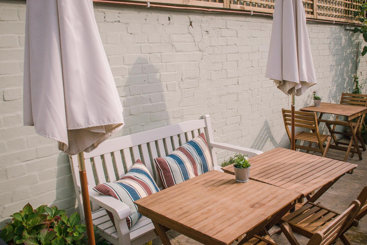 Wild Thyme Shepherds-Bush-Restaurants with Gardens London