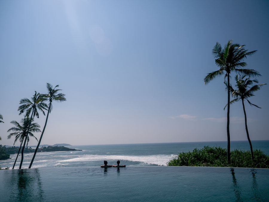 cape weligama infinity pool