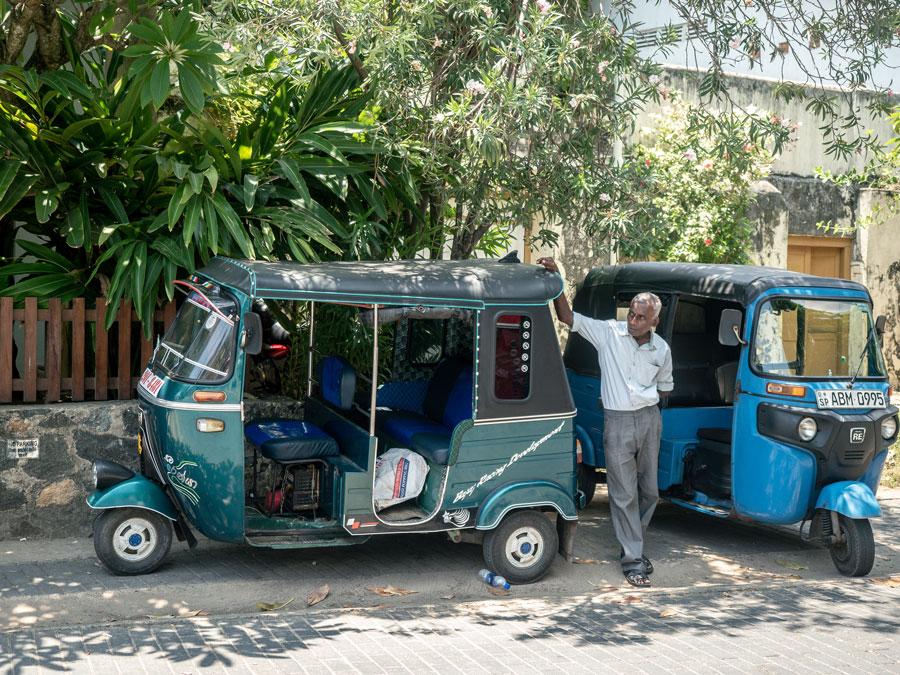 Driver Sri Lanka Tuk Tuk