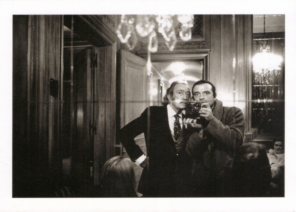 Salvador Dali and David Bailey. David Bailey, 1972. © David Bailey