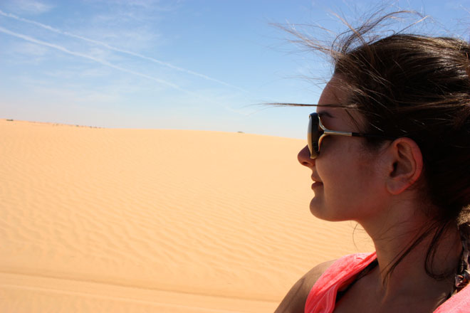 Platinum Heritage - Desert Safari Dubai - Breakfast with a Bedouin - Sand dunes
