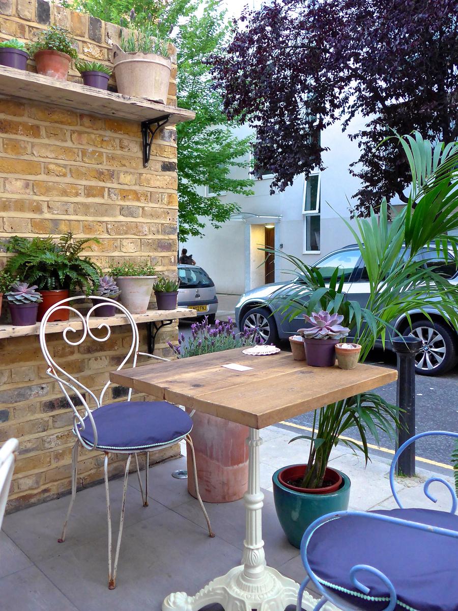 Chicama London Outdoor Terrace
