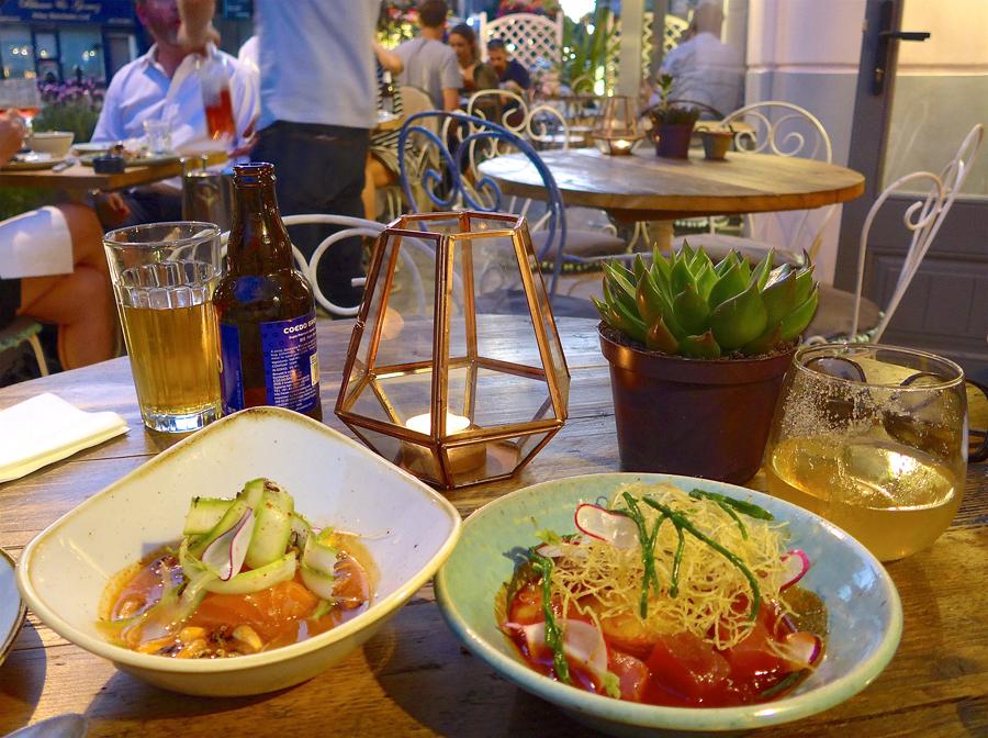 Chicama London dinner