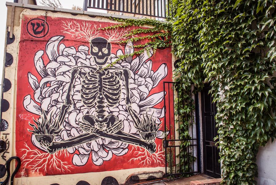Columbia Road Flower Market - East London Graffiti