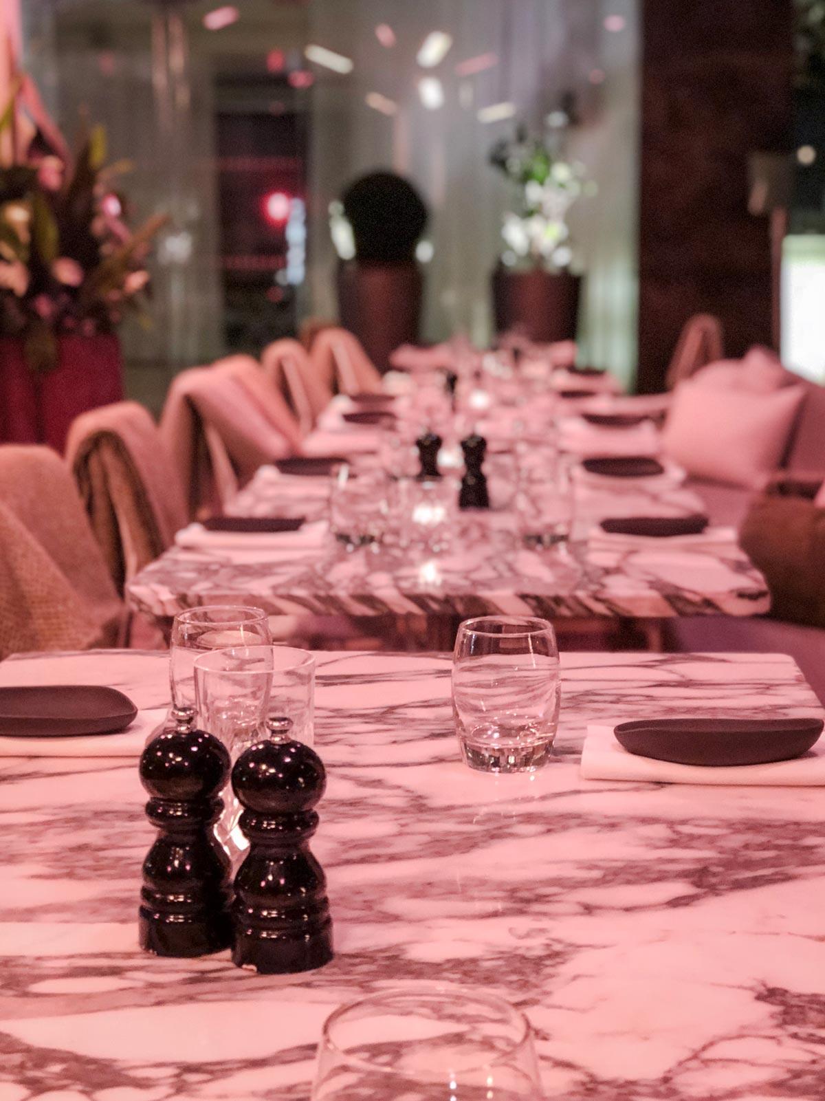 The Restaurant at Sanderson Hotel