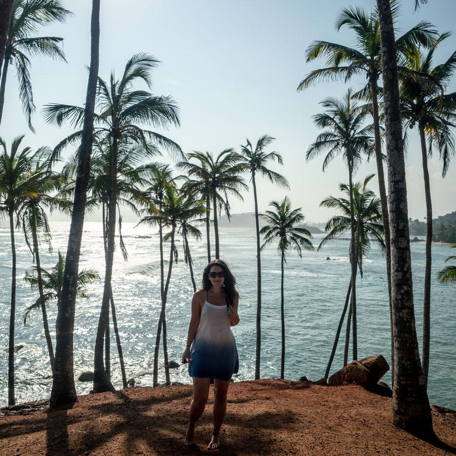 Palm Tree Hill Mirissa